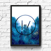 Постер с рамкой Twenty One Pilots #5