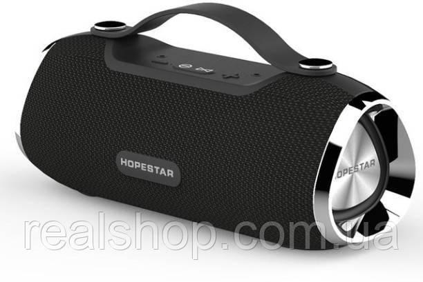 Портативная колонка HOPESTAR H40 black Bluetooth, MP3, AUX (Оригинал)