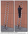 Лестница-стремянка 440 см, фото 4
