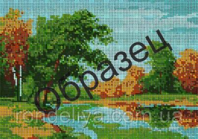 Схема для вышивки бисером «Осенние краски»
