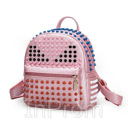 Рюкзак Three Feather Fendi Pink, фото 2