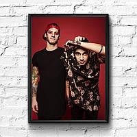 Постер с рамкой Twenty One Pilots #10