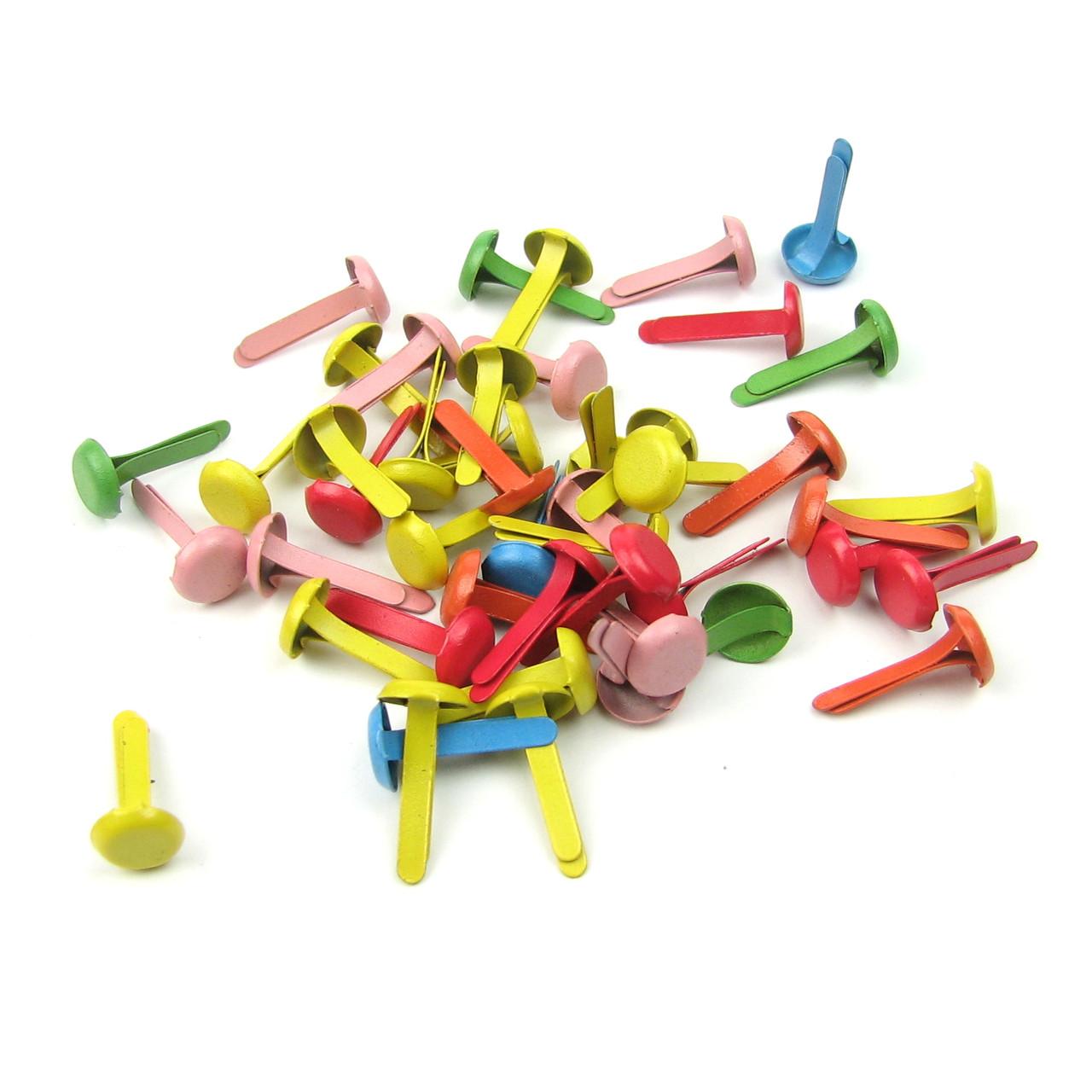 Брадсы разноцветные 6мм 25шт в наборе
