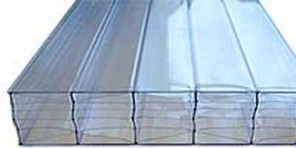 Сотовый поликарбонат ITALON прозрачный 8 мм