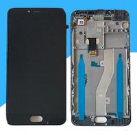 Дисплей (экран) для Meizu M3 Note (L681H) + тачскрин, черный, с передней панелью, 30 pin