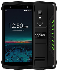 Poptel P8 green IP68, NFC