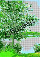 Схема для вышивки бисером «Летний лес»