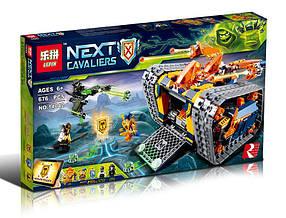 Конструктор Lepin 14042 Нексо Найтс Передвижной арсенал Акселя (аналог Lego Nexo Knights 72006)