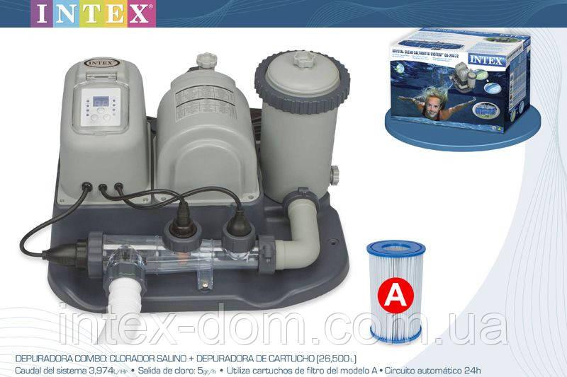 Хлорогенератор с фильтр-насосом 220 В 54612\28672 киев