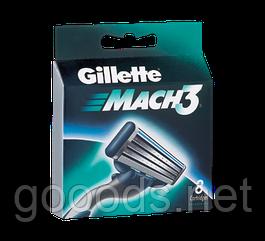 Кассеты для бритвы Gillette Mach3 8 шт