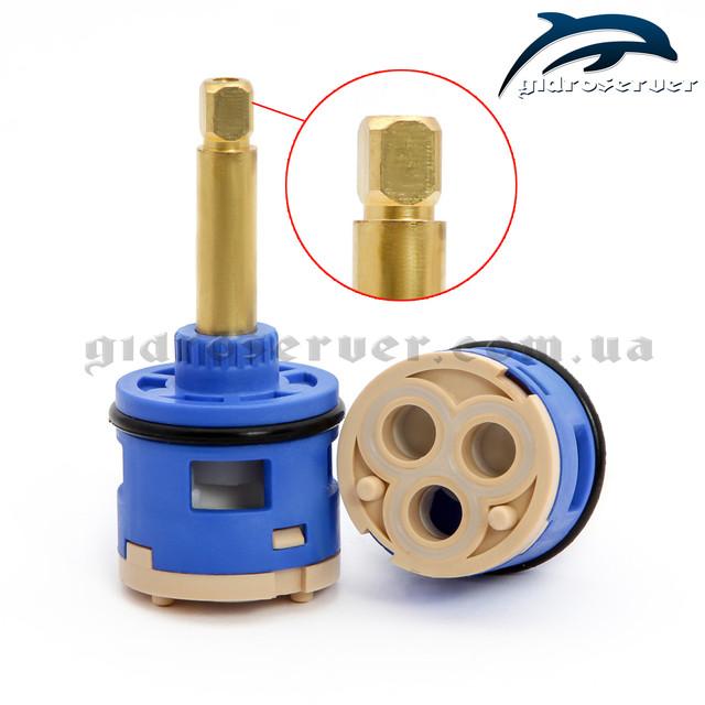 Картридж для смесителей душевых кабин, гидромассажных боксов 33/3/37 KV на три режима работы.