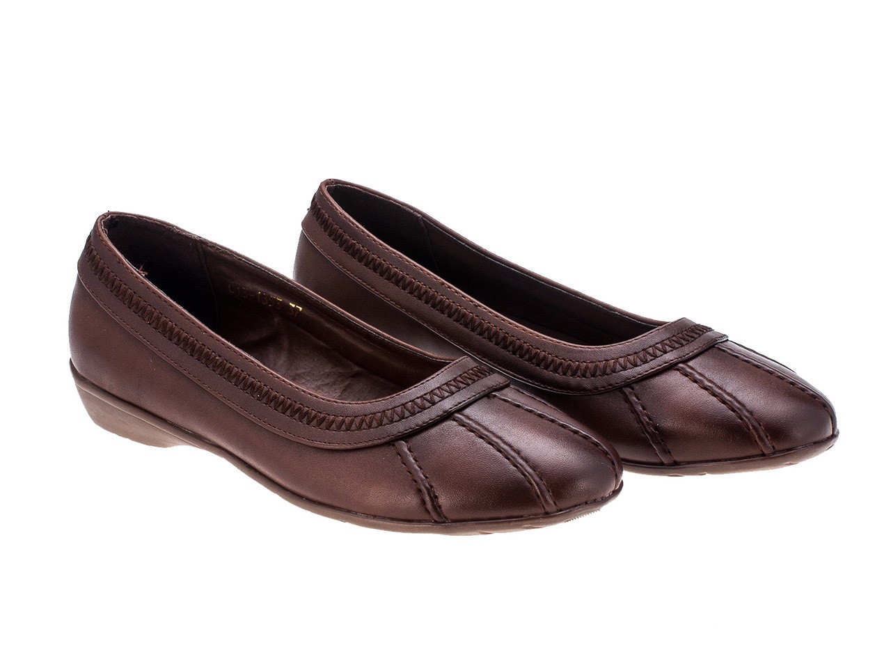 Туфли женские 8 пар в ящике коричневого цвета 36-40