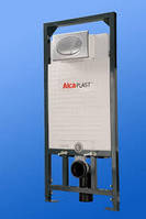 Инсталляция для унитаза alca plast а101 хром-мат