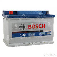 Аккумулятор BOSCH 74Ah-12v S4009 (278x175x190) со стандартными клеммами   L,EN680 (Европа)