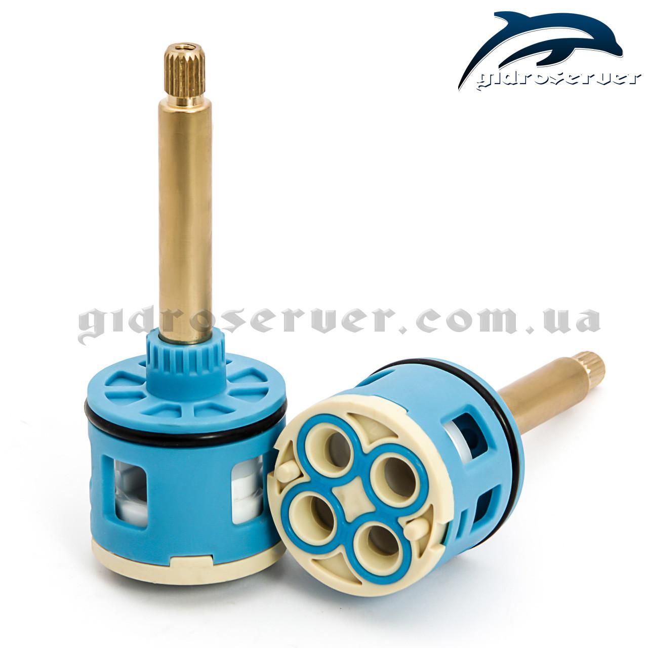 Картридж перемикання режимів для душових кабін, гідромасажних ванн, гідробоксів 4/37/55 на 4 положення.