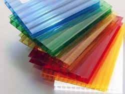 Сотовый поликарбонат ITALON цветной 4 мм