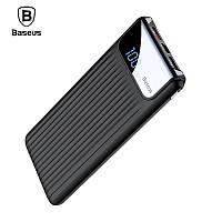 Внешний аккумулятор (Power bank) Baseus Thin Digital Power Bank 10000mAh с дисплеем Quick Charge 3.0 (Черный)