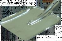 Лопата совковая, нержавейка 2 мм (Украина)