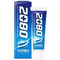 Отбеливающая зубная пастаAekyung 2080 Advance Blue Toothpaste Scrub Essence120 мл