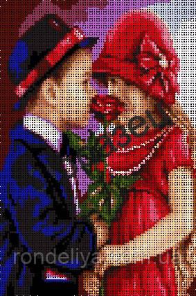 Схема для вышивки бисером «Романтика»