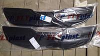 Зимняя накладка на KIA Sportage-3 2010-2015 Решетка FLY Мат