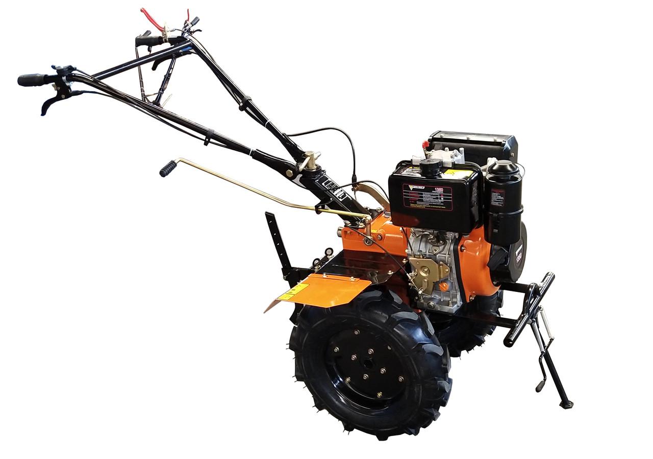 """Дизельный мотоблок Forte 1350 колёса 12"""""""