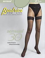 """Колготки матові з імітацією панчох Sensual 30 den """"Beatrice"""""""