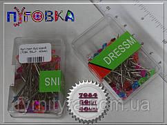 Булавка портновская (примерочная) 50ш - 40мм
