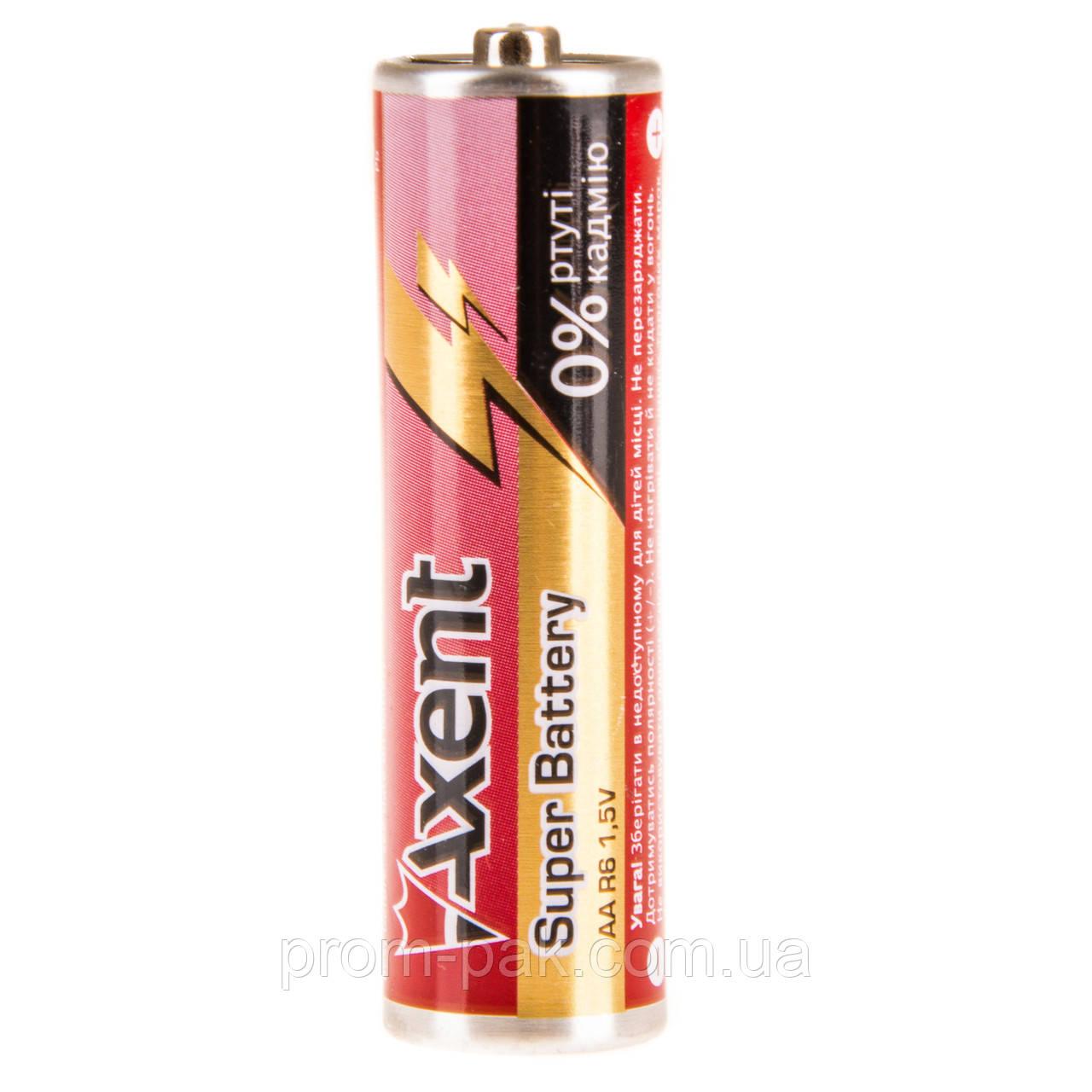 Пальчиковые батарейки Axent R6 AA 1.5V 5556-1