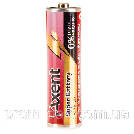 Пальчиковые батарейки Axent R6 AA 1.5V 5556-1, фото 2