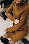 Женское вязаное платье-туника (4 цвета), фото 2