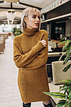 Женское вязаное платье-туника (4 цвета), фото 3