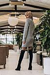 Женское вязаное платье-туника (4 цвета), фото 4