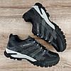 Мужские кроссовки Merrell OutDoor Grey (серые с синим) ТОЛЬКО 46 - стелька 29.5+см, фото 2