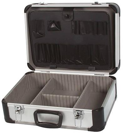 Чемодан алюминиевый для инструментов 455x330x165 мм, фото 2