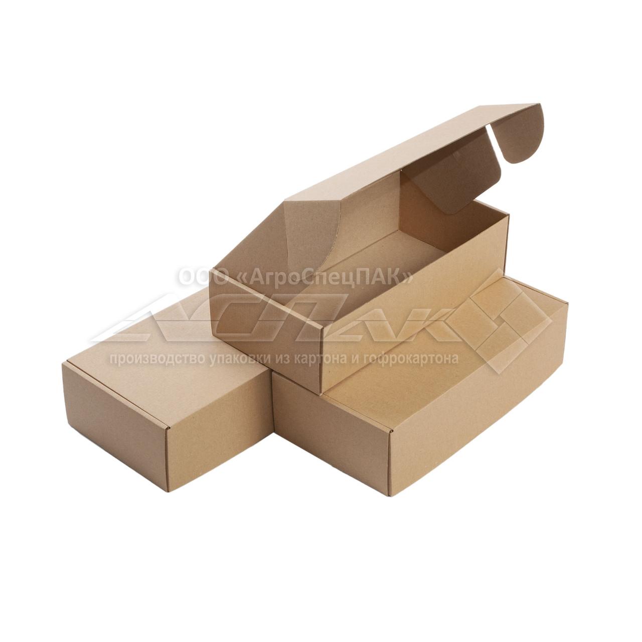 Упаковочные коробки 300*155*80 бурые