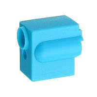 3Pcs Blue Силиконовый Нагревательный блок вулкана Защитный Чехол для 3D-принтера Часть V6 Hotend - 1TopShop