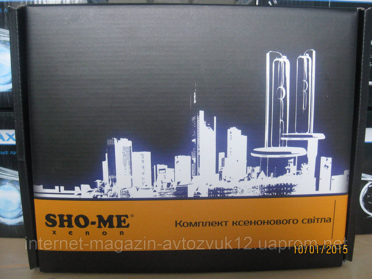 Би-ксенон Sho-me Slim/HID H4 6000K