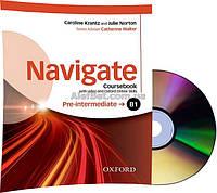 Английский язык / Navigate / Coursebook+DVD+Online. Учебник с диском, B1 Pre-Intermediate / Oxford