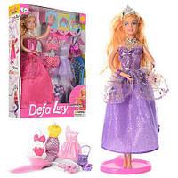 Кукла с гардеробом в коробке