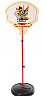 Детское баскетбольное кольцо со щитом