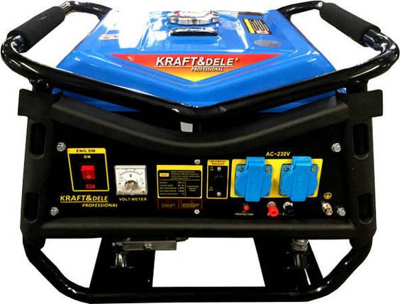 Электрогенератор KRAFT & DELE 6,5KM 4800W, фото 2