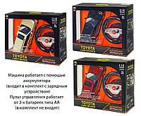 Машина аккум р/у HQ200135S (6шт) TOYOTA LAND CRUISER,3 цвета,свет,звук,в коробке 52,5*16*40см