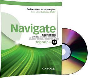 Английский язык / Navigate / Coursebook+DVD+Online. Учебник с диском, A1 Beginner / Oxford