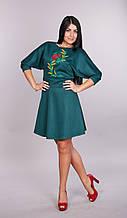 Женское платье Колосок  с украинской вышивкой