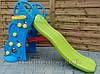 Дитяча гірка з баскетбольним кільцем 2 in 1 135 см, фото 3