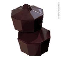 Поликарбонатная форма шоколадная коробочка восьмигранная