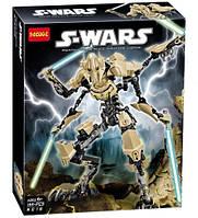 """Конструктор Decool 9016 """"Генерал Гривус"""" Звездные Войны (аналог LEGO Star Wars 75112), 186 дет"""