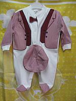 Бодики, человечки, комплекты для новорожденных