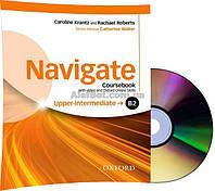 Английский язык / Navigate / Coursebook+DVD+Online. Учебник с диском, B2 Upper-Intermediate / Oxford